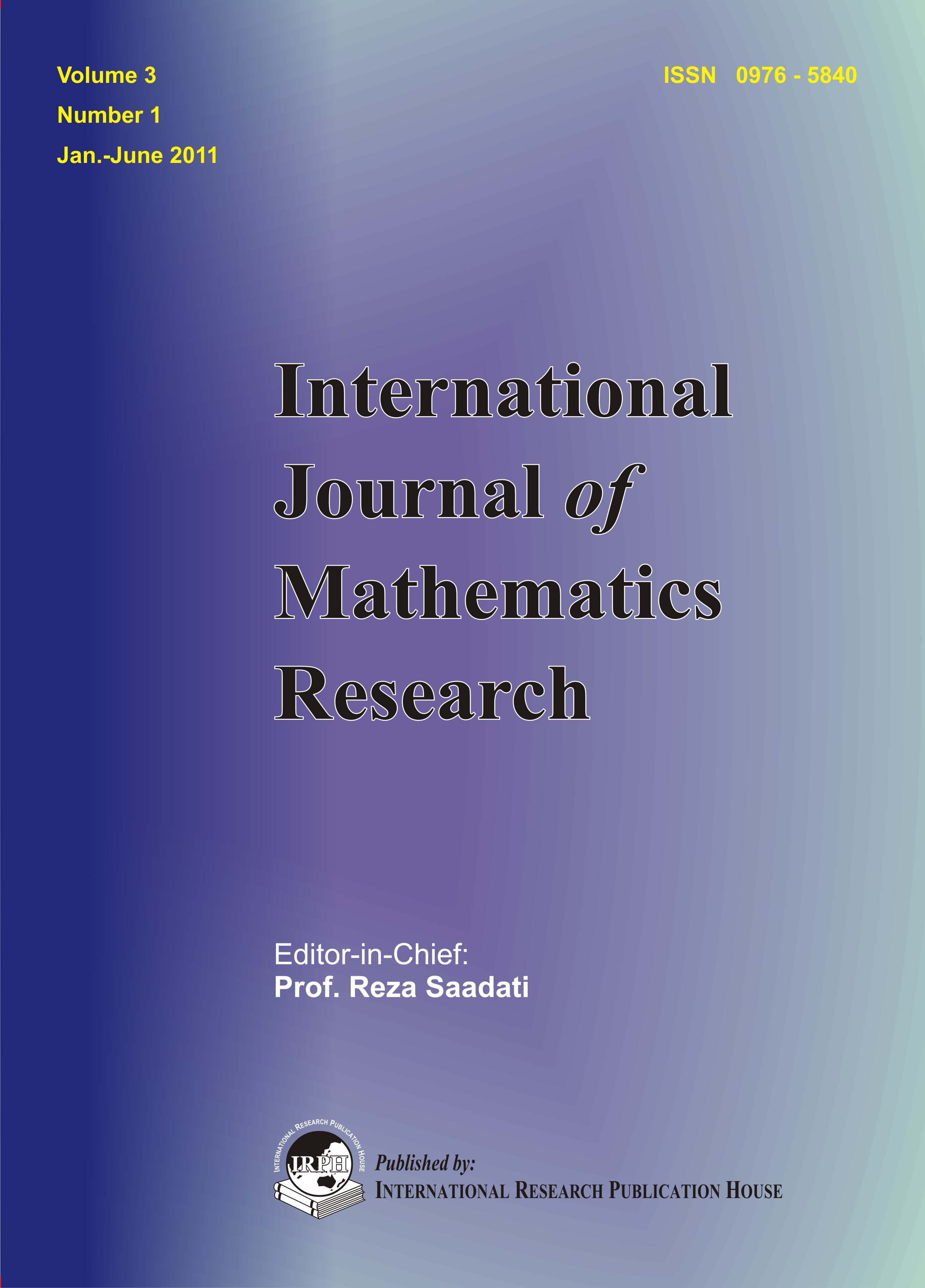 international math research papers International journal of mathematics trends and technology – ijmtt is an international, open access journal which provides an advanced forum for studies related to mathematical sciences, aims to publish original research papers and survey articles in all areas of mathematics, enhance the interests, talents, and achievements of all individuals.